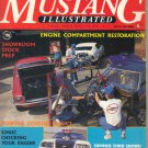 Mustang Illustrated Magazine-Fall 1987-Randy Gillis- Mustang II racer-Jim Hosey-1967 Pro Street