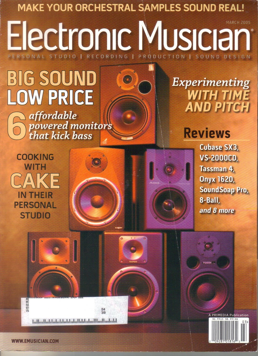 Electronic Musician Magazine-March 2005-Mouse on Mars-Radical Connector-Jan St Werner-Andi Toma