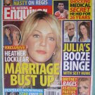 NATIONAL ENQUIRER November 21 2005 HEATHER LOCKLEAR MARRIAGE Julia Roberts Kathie Lee BRITNEY SPEARS