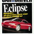 CAR AND DRIVER MAY 1994 Mitsubishi Eclipse GSX 1995 Acura NSX BMW 840 Ci