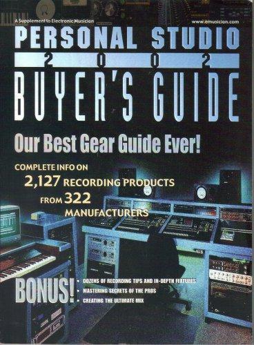 Supplement to Electronic Musician Magazine Personal Studio 2002 Buyer's Guide-Michael Molenda