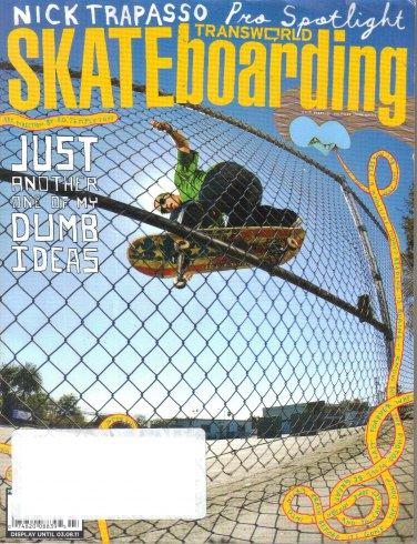 Transworld Skateboarding Magazine March 2011-Luan Oliveira-Nick Trapasso-Kenny Reed