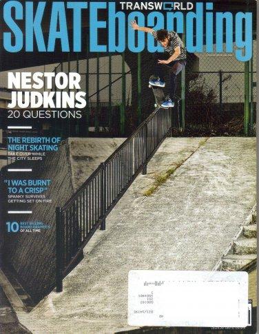 Transworld Skateboarding Magazine June 2011-Nestor Judkins-Cooper Wilt-Elijah Berle