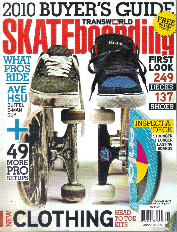 Transworld Skateboarding Magazine-2010 Buyer's Guide-Jerry Hsu-Pete Eldridge-Brent Atchley