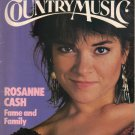 COUNTRY MUSIC September October 1983 ROSANNE CASH Louise Mandrell Marty Robbins Hank Williams Jr