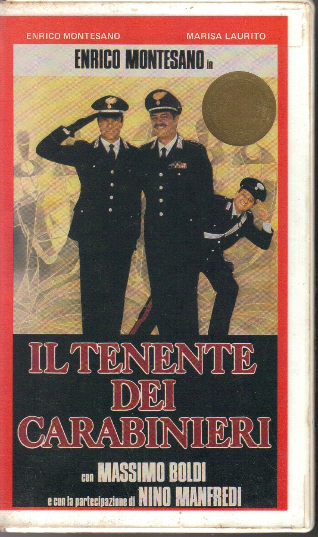 IL TENENTE DEI CARABINIERI VHS Enrico Montesano Marisa Laurito Massimo Boldi Cine Video