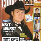 COUNTRY WEEKLY April 11 2005 Chris Ledoux Blake Shelton Tim McGraw Katie Couric Interview