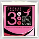 Susan G Komen 3 Day Race for the Cure Stadium Seat Cushion 2-Pack _2833