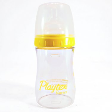 Baby Bottle Playtex Drop-Ins System 4 oz Nurser Including 5 Liners _182-13