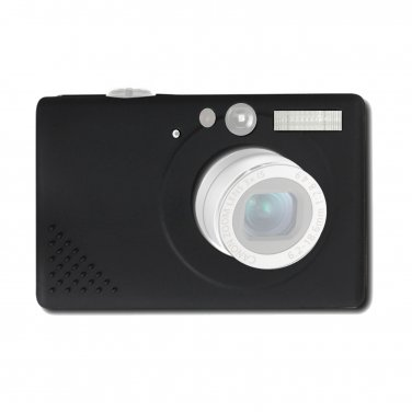 Camera Case Silicone Skin Canon SD1100 IS SD1100IS SD-1100 IXUS80 Black Init NT-CA127 _1905K