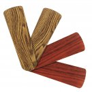 "Replacement Blades for 38""-42"" Ceiling Fan Reversible Dark Oak / Mahogany 4-pack _328-B06"