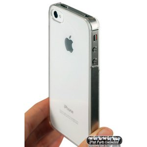 Ultra Thin-Series Hard Case For Verizon Sprint AT&T Apple iPhone 4 4S & CLEAR FILM