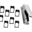Micro Sim Card Cutter with 8 Sim Adapters for Apple iPhone 4 4G OS Ipad