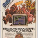 Amidar video game PRINT AD Parker Brothers cartridge advertisement '80s 1982