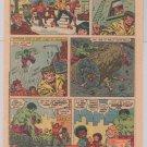 HOSTESS FRUIT PIE print ad HULK vs Roller Disco Devils comic vintage advertisement 1980
