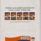 Wheaties Olympics 1996 PRINT AD commemorative boxes MICHAEL JOHNSON '90s