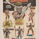 Warlord Hercules Arak action figures '80s PRINT AD Remco Kmart vintage toy advertisement 1982