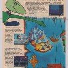 Tiny Toons: Buster's Hidden Treasure '90s 2-page PRINT AD video game advertisement Sega Genesis 1993