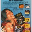 Bill & Ted video game '90s PRINT AD Keanu Reeves Nintendo advertisement 1991
