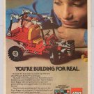 Lego Dune Buggy '80s PRINT AD vintage advertisement Legos toy 1982