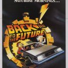 Back to the Future cartoon '90s PRINT AD animated CBS advertisement 1991