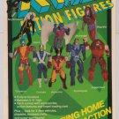 X-MEN Toy Biz action figures '90s PRINT AD Marvel Comics advertisement 1991