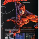 DAREDEVIL video game PRINT AD Marvel Comics superhero advertisement 2004