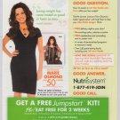 MARIE OSMOND Nutrisystem PRINT AD advertisement 2010