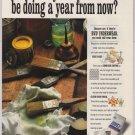 BVD underwear '90s PRINT AD briefs paint rag advertisement 1993