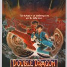 DOUBLE DRAGON movie '90s PRINT AD Scott Wolf film advertisement 1994