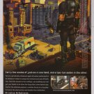 CRACKDOWN video game PRINT AD Xbox 360 advertisement 2007