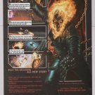 GHOST RIDER video game PRINT AD advertisement 2006