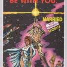 STAR WARS Married With Children '90s PRINT AD Now Comics advertisement 1993