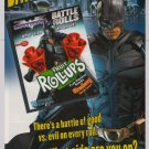 Batman Battle Rolls PRINT AD Fruit Roll-ups DARK KNIGHT advertisement 2008