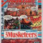 3 Musketeers candy bar '90s PRINT AD Adventure No. 6 comic-style advertisement Arlen Schumer 1991