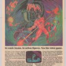 POWER LORDS video game '80s PRINT AD Probe 2000 vintage advertisement 1983