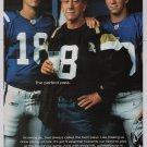 Got Milk Peyton Manning, Eli Manning PRINT AD advertisement Archie NFL 2004