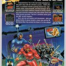 SMASH T.V. video game '90s PRINT AD Acclaim advertisement TV 1991