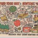 Nabisco Fig Newtons '80s PRINT AD cookies advertisement maze 1984