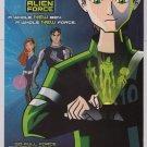 BEN 10 ALIEN FORCE Cartoon Network PRINT AD animated series advertisement 2008