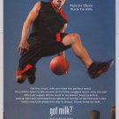 STEVE NASH got milk PRINT AD basketball NBA Phoenix Suns advertisement 2007
