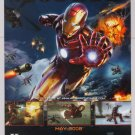 IRON MAN video game PRINT AD movie tie-in advertisement 2008