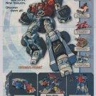 Transformers Armada PRINT AD Hasbro Optimus Prime toys advertisement 2002