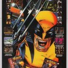 WOLVERINE Adamantium Rage '90s PRINT AD Acclaim video game advertisement 1994