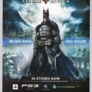 BATMAN Arkham Asylum PRINT AD video game advertisement mini-poster 2009