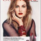 COVERGIRL Drew Barrymore PRINT AD LipPerfection lipstick Spanish Espanol advertisement 2011