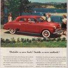 1948 Studebaker Champion '40s old PRINT AD Commander classic car automobile vintage ad