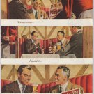 Schlitz beer '40s old PRINT AD businessmen in suits - I was curious - Milwaukee vintage ad 1948