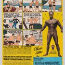 Charles Atlas bodybuilder PRINT AD fitness program retro advertisement 1999