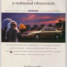 Chevy Malibu astronaut '90s PRINT AD Chevrolet automobile car advertisement 1997